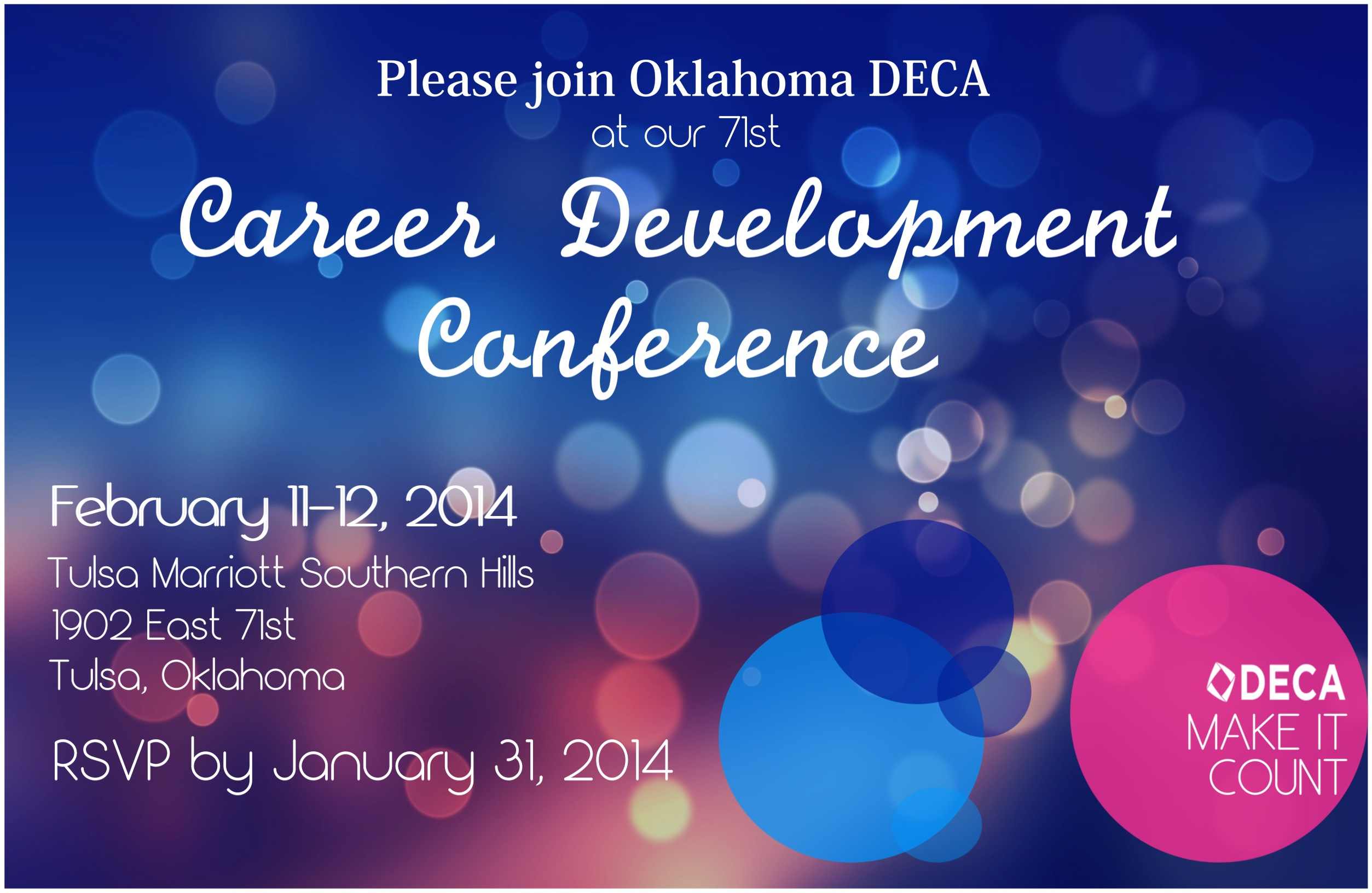 DECA Conference Invitation